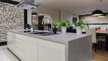 Comptoir en surface solide - Corian